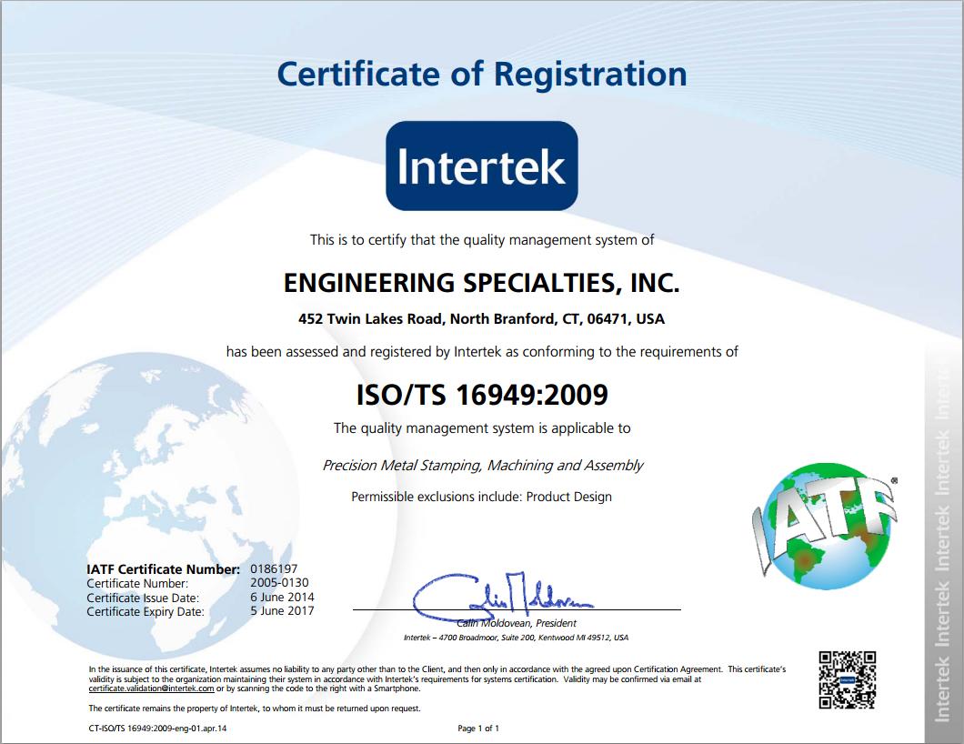 ISO-TS-certificate
