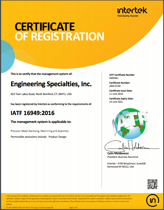esi-iatf-certification
